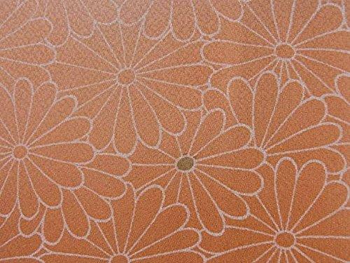 リサイクル 羽織  菊の花文様 正絹 裄62cm 身丈76cm