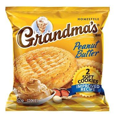Grandma's Peanut Butter Cookie - 2 cookies per bag - 60 ct.