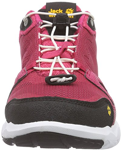 Red Top Azalea 2081 Monterey Wolfskin Low Jack Air Women's Pink Low W Sneakers Sgxq4Cw