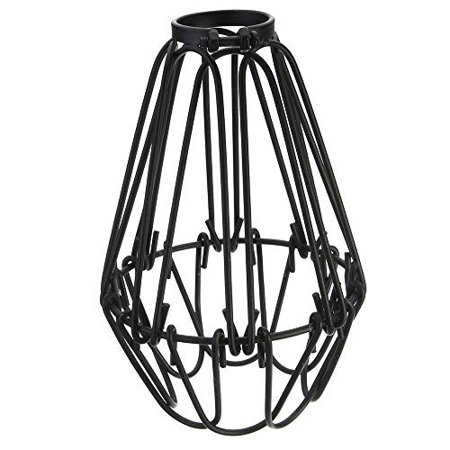 Motent Vintage Industrial Metal Bird Cage Lampshade Chandelier 4.1