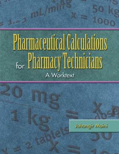 manual for pharmacy technicians 4th edition