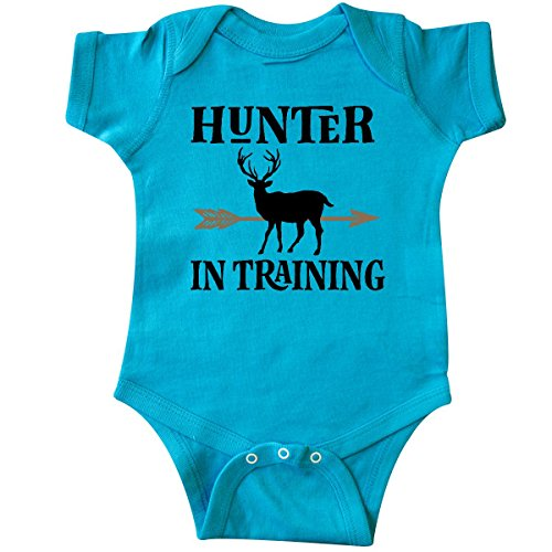 inktastic - Hunter in Training Hunting Infant Creeper 6 Months Turquoise 2de6a