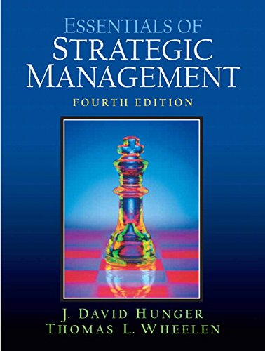 Essentials of Strategic Management (4th Edition)