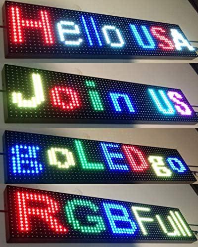 Amazon.com: GoLEDgo - Señal LED programable para mensaje ...