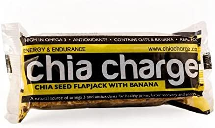 Chia Chia Cargo plátano 80 g de semillas Flapjack: Amazon.es ...