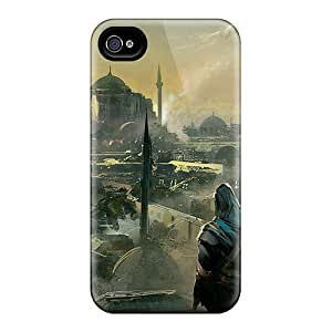 Durable Case For The Iphone 4/4s- Eco-friendly Retail Packaging(assassins Creed Revelations Ezio)