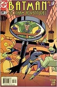 batman gotham adventures 28 riddler appearance. Black Bedroom Furniture Sets. Home Design Ideas