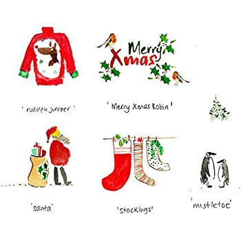 Amazon 10 funny christmas cards christmas humour greeting 10 classic christmas cards santa claus greeting cards from gayacards give a special festive card m4hsunfo
