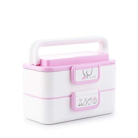 Serrale Bento Box Microondas Fiambrera Calefacción 2 Capas ...