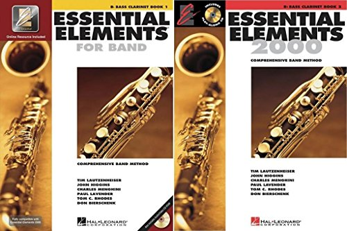 Essential Elements for Band - Bb Bass Clarinet, Books 1-2, 2 Book Set, EE BASSCLARINET 2BK