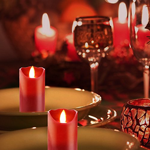 AUTHENTIC 7 Inch Flameless LED Candle - Real Wax & Real ...