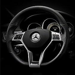 Genuine Austrian Crystal Mercedes Steering Wheel Badge