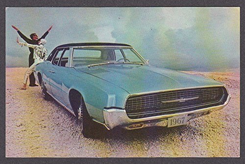 1967 Ford Thunderbird 4 Door Landau Postcard At Amazon S