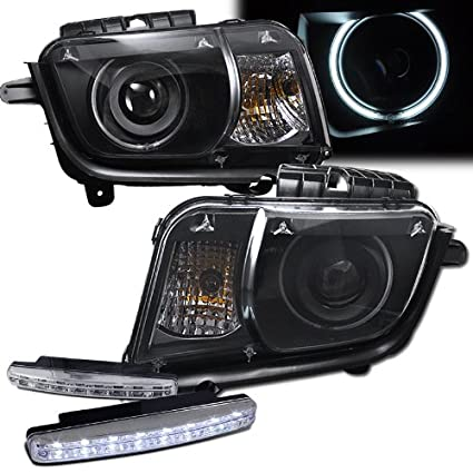Amazon.com: 2010 Chevy Camaro Projector Headlights With Halo Rims + on corvette wiring diagram, 2010 silverado wiring diagram, charger wiring diagram, chevy camaro wiring diagram, ls3 wiring diagram, 2010 f150 wiring diagram, dodge wiring diagram, gto wiring diagram, 2010 equinox wiring diagram, 2010 mustang wiring diagram, 2010 malibu wiring diagram, chevrolet wiring diagram, 1969 camaro wiring diagram, 2010 camaro engine wiring diagram, ford f150 wiring diagram, 1979 camaro z28 wiring diagram, porsche wiring diagram, 1992 camaro starter wiring diagram, 69 camaro wiring diagram, 2010 impala wiring diagram,