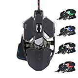 Pajuva Professional Gaming Mouse Mechanical mouse 9 Buttons Black