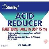 Stanley Acid Reducer Ranitidine Tablets Usp 75 Mg 90 Count