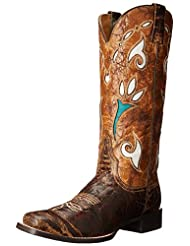 Stetson Women's Cowgirl Tulip Western Boot