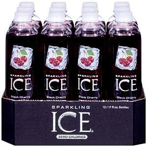 Sparkling Ice Black Cherry,  17 Ounce Bottles (Pack of 12)