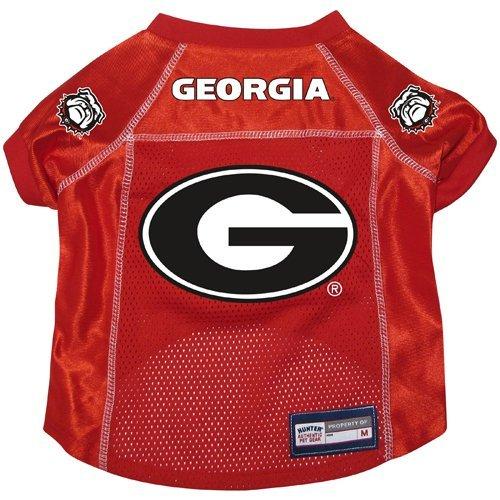 Georgia Bulldogs Premium Alternate NCAA Pet Dog Jersey w/ Name Tag LARGE
