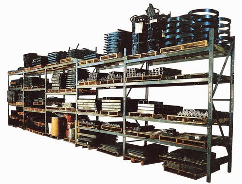 Heavy Duty Pallet Racks (Modern Equipment Co. (Meco), Load Beam Pairs With 4 Inch Channel(Heavy Capacity)For Heavy Duty Pallet Rack, 2Sb4-132-236, Width (In): 132, Depth (In): 36, Capacity: 6,100#, Weight: 138, 2Sb4-132-236)