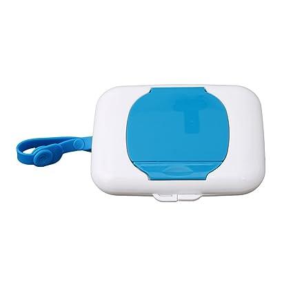 Fullin portátil limpiador caso caja toallitas húmedas portátil dispensador de toallitas húmedas caja de pañuelos funda