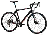Mongoose Selous Comp Gravel Road Bike 700cm Wheel, Black, 58 cm/Large For Sale