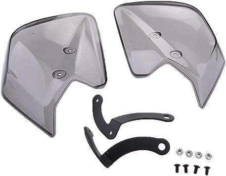 White Heinmo Motorcycle Handguards Hand Guards Shield For Yamaha Dirt Bike Windshield Wind Shield