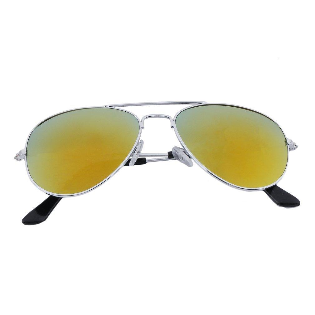Fansport Occhiali da Sole per Bambini Occhiali da Sole da Viaggio Occhiali da Sole Con Lenti Riflettenti per Occhiali da Sole per Ragazze