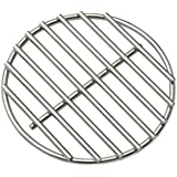 "BBQ High Heat Stainless Steel Charcoal Fire Grate Fits for Medium Big Green Egg Fire Grate and Kamado Joe Grill Parts Charcoal Grate Replacement Accessories (6 1/2"")"