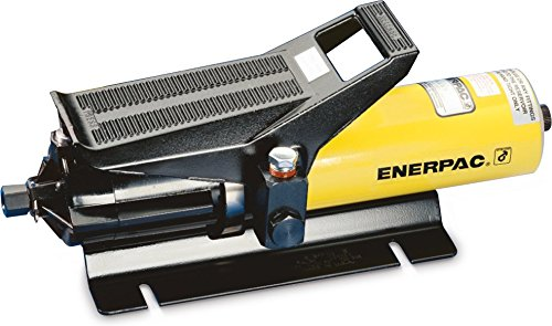 Enerpac PA-133 Air Hydraulic Pump with 10,000 Pounds Per Square Inch and Base Mounting Slots by Enerpac