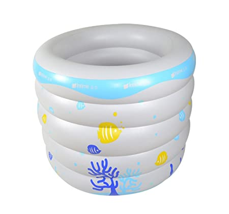 LPYMX,Bañera Acolchada Piscina Inflable Inflable Inflable de ...