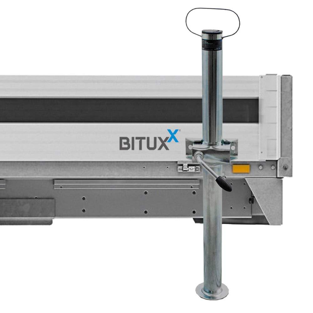 BITUXX/® 2 Paar Anh/änger Abstellst/ützen 700mm St/ützen Anh/ängerst/ützen St/ützfu/ß bis 1000Kg 70cm