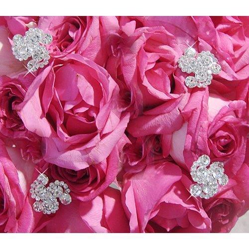 Crystal Swirls Bouquet Jewelry