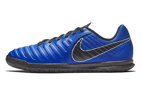 NIKE - Zapatillas de fútbol Sala de Sintético para niño Azul Turquesa: Amazon.es: Zapatos y complementos