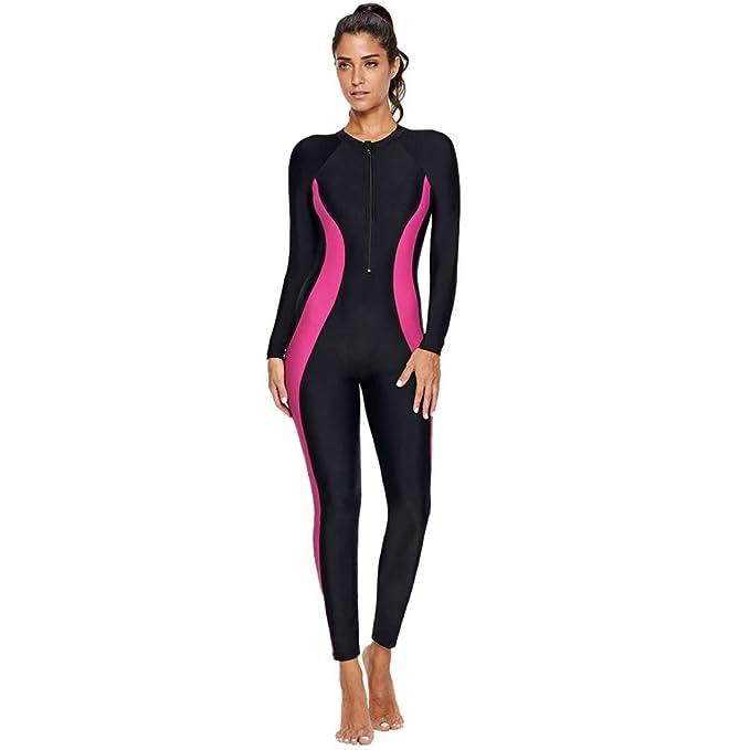 Amazon.com: Tianmi - Traje de surf para mujer, cuerpo ...