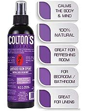 Lavender Room & Linen Spray Pure Lavender Essential Oil Mist Spray Pillow Mist 100% Natural Toilet Spray Relax Your Mind Sleep Spray (Lavender Fresh, 4 oz)