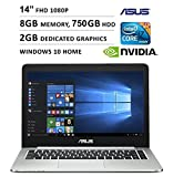 2016 Newest Asus K Series 14