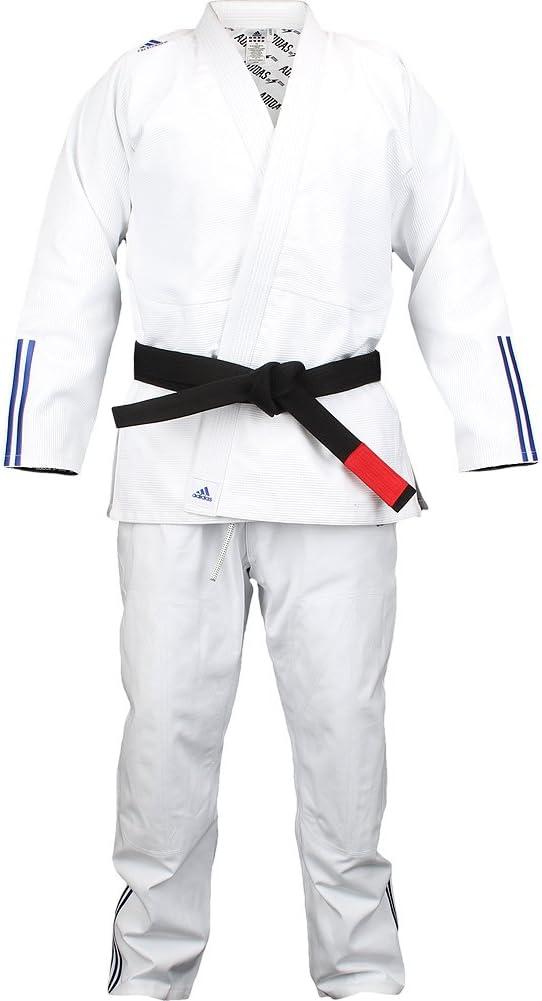 traicionar eximir calcular  Amazon.com: adidas White Jj600 Quest BJJ Kimono A4: Sports & Outdoors