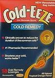 Cold-Eeze Tropical Orange Flavor Remedy Lozenges, 18 Count