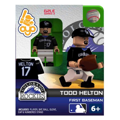 - MLB Colorado Rockies Todd Helton OYO Figure