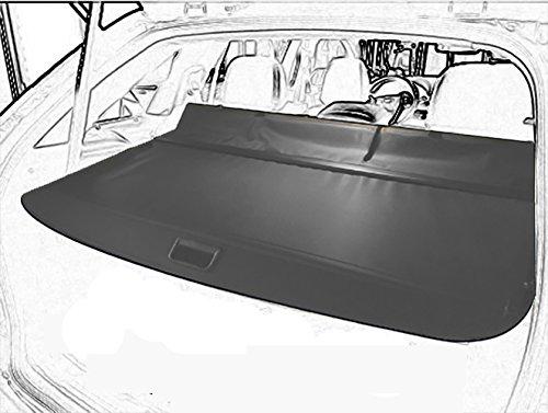 Cargo Cover Retractable For 2011 2012 2013 2014 Ford Edge Black By Kaungka - Edge Tonneau Cover