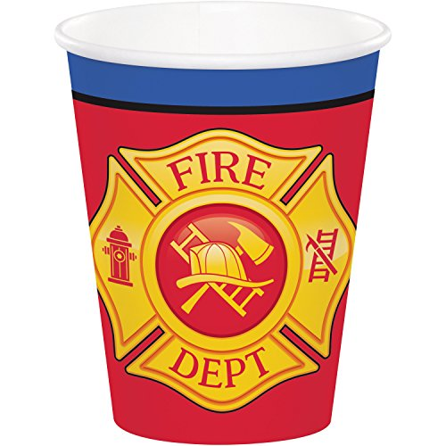 - Fire Truck Cups, 24 ct