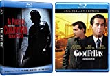 Goodfellas + Carlito's Way Mob Crime Blu Ray Movie Set Double Feature