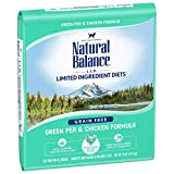 Natural Balance Limited Ingredient Diets Green Pea & Chicken Formula Dry Cat Food, 10 Pounds, Grain Free Larger Image