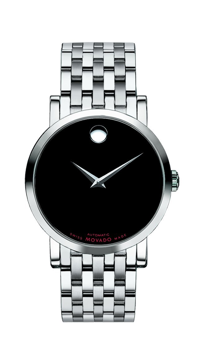 Movado Mens Red Label Analog Business Automatic Watch (Imported) 0606115
