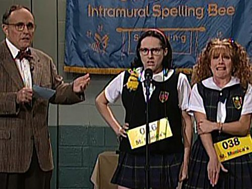 Highlights - St. Monica's Spelling Bee (Mary Katherine Gallagher)