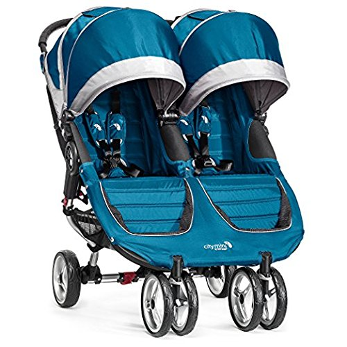 Baby Jogger 2017 City Mini Double (Teal/Gray) by Baby Jogger