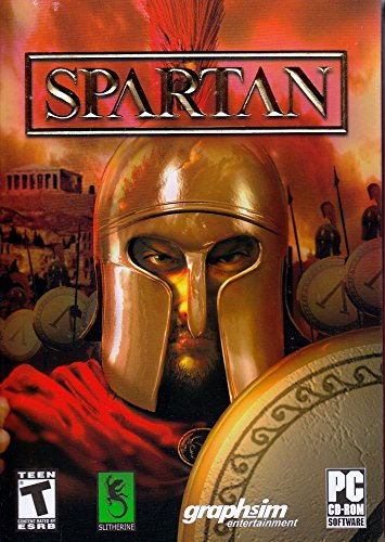 Spartan (PC CDRom Game) Master the Ancient World. Take command, develop. Play over a 100 different nations (Spartan Drum)