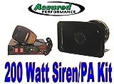 Assured Performance 200 Watt Police Tone 8 Sound Siren + ...