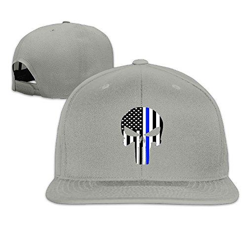 USA American Flag Patch Snapback Trucker Mesh Cap - Black (Racing Pin Hat)